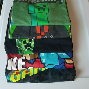 Minecraft & Gamer tees
